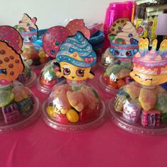 Shopkins Party Favors Candy Containers by KidsInvitations on Etsy