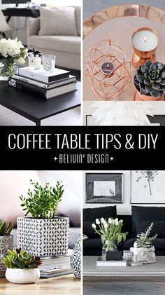 29 Tips for a perfect coffee table styling - Coffee Table - Ideas of Coffee Tabl. - 29 Tips for a perfect coffee table styling – Coffee Table – Ideas of Coffee Table - Coffee Table Design, Cofee Table, Coffee Table Decor Living Room, Coffee Table Styling, Decorating Coffee Tables, Living Room Decor, How To Style Coffee Table, How To Decorate Coffee Table, Coffee Table Vignettes