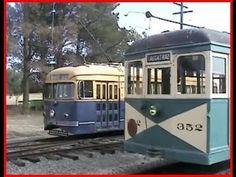 Vintage Trolleys - Trams - Memphis - Daytime - YouTube