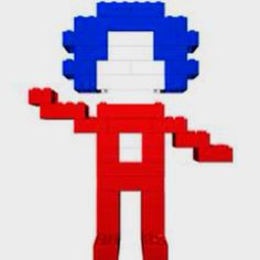 Lego Thing 2 or, I guess it might be Thing Cool Lego, Thing 1 Thing 2, Crafts, Manualidades, Handmade Crafts, Craft, Arts And Crafts, Artesanato, Handicraft