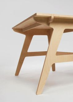 Ideas Woodworking Joinery Plywood For 2019 Recycled Furniture, Plywood Furniture, Rustic Furniture, Table Furniture, Cool Furniture, Furniture Design, Furniture Ideas, Chair Design, Futuristic Furniture