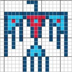 native american bead patterns free | Free Patterns - Thunderbird