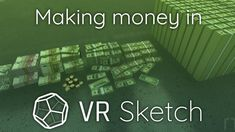 """Using the """"Move tool"""" in VR Sketch to create a lot of money! VR Sketch is a SketchUp extension allowing anyone to view, edit and draw in virtual reality. Future Album, Music Publishing, Vr, Science And Technology, How To Make Money, Sketch, Songs, Sketch Drawing, Sketches"""