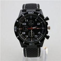 Mens Quartz Aviator Wrist Watch