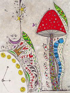Alice's Wonderland Ch. 1 Down The Rabbit Hole| Serafini Amelia| Alice in wonderland