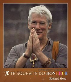 Best Inspirational Quotes About Life QUOTATION - Image : Quotes Of the day - Life Quote Frases y Citas Sharing is Caring - Keep QuotesDaily up, share this Richard Gere, Best Inspirational Quotes, Inspiring Quotes About Life, Love Quotes, Wise Sayings, Positive Attitude, Positive Quotes, Namaste, A Course In Miracles
