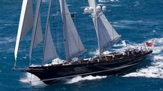 The metre sailing yacht Meteor, listed for sale by Will Bishop at Yachting Partners International, has been sold with the buyer introduced by Burgess. Luxury Yachts For Sale, Yacht For Sale, Water Crafts, Astronomy, Sailing Ships, Nautical, Racing, Vehicles, Sailboats