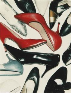 Shoes - Andy Warhol 1980....funny a Warhol I've never seen before. Must be losing my touch ;)