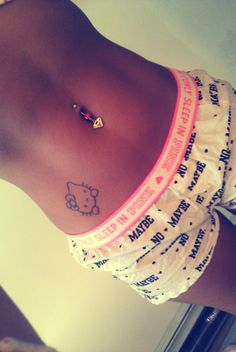 Now you guys may think I'm crazy for wanting to tattoo Hello Kitty on myself, but hey, it's cute & i like it!