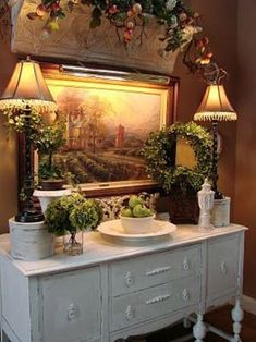 Stunning Fancy French Country Dining Room Decor Ideas 42 Home interior shelf French Country Dining Room, French Country Farmhouse, French Country Style, Farmhouse Design, Country Décor, Rustic Style, Modern Country, Rustic French, Rustic Feel