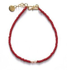 ANNI LU BG02 bracelet / wine red