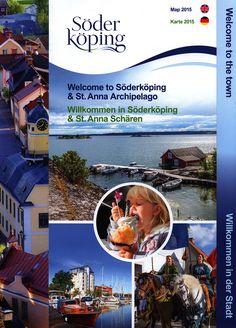 https://flic.kr/p/JhCVwj | Söderköping Map Karte 2015_1; Welcome to Söderköping & St Anna Archipelago/ Willkommen in Söderköping & St. Anna Scharen; Östergötland, Sweden