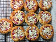 Bakery Recipes, Pizza Recipes, Bread Recipes, Cookie Recipes, Snack Recipes, Pain Pizza, Pizza Pastry, Resep Cake, Western Food