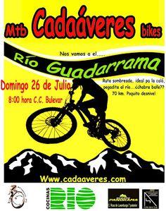 Mtb Cadaáveres - Bike : Río Guadarrama, domingo 26 de julio