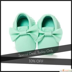 Today Only! 10% OFF this item.  Follow us on Pinterest to be the first to see our exciting Daily Deals. Today's Product: Baby Moccasin Newborn Shoes Buy now: https://small.bz/AAdFqi9 #musthave #loveit #instacool #shop #shopping #onlineshopping #instashop #instagood #instafollow #photooftheday #picoftheday #love #OTstores #smallbiz #sale #dailydeal #dealoftheday #todayonly #instadaily