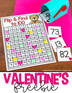 Valentine s Day Centers for Kindergarten Valentine s Day Centers for Kindergarten The Printable Princess printprincesskg Numbers in Kindergarten Are you looking for hands-on and engaging activities nbsp hellip Kindergarten Math Games, Kindergarten Freebies, Preschool Math, Fun Math, Math Activities, 2 Kind, Valentines Day Activities, Apps, Content Marketing