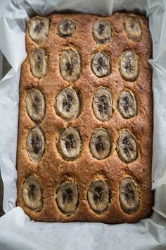 Buttermilk Banana Tray Cake - Cook Republic