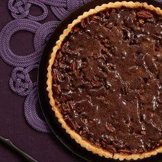Chocolate Pecan Tart // More Beautiful Desserts: http://www.foodandwine.com/slideshows/beautiful-desserts #foodandwine