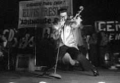 Elvis rocking the 50s