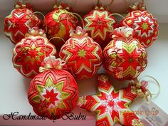 Červeno-zlatá kolekcia :)