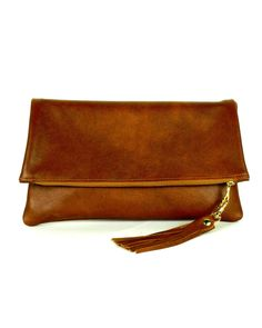 Leather Statement Clutch - STINGRAY by VIDA VIDA ljtma7CO44