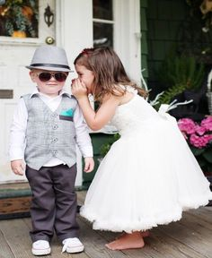 Ivory Princess Petti Dress - perfect for flower girls, weddings, or just dressing up for fun!