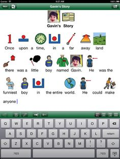SymbolSupport ($59.99) Add symbols & speech to text. Read docs w/ a high quality text-to-speech voice while text is highlighted word by word. This app is intended to help learners with an intellectual disability or autism access important information like class assignments, step-by-step instructions, and social stories. Documents created can be read with the free SymbolSupport Viewer app. Connect with 15 devices simultaneously via Wi-Fi.. Email symbolized documents as images or PDFs.