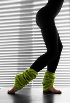 FOr winter walks to Yoga CLass in Crop pants.  Perfect!!!    Knockout Ribbed Leg Warmers   $14