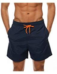 Uomo Bermuda da Bagno Pantaloncini Calzoncini Pantaloni Sportivi Corti TG .S-XL