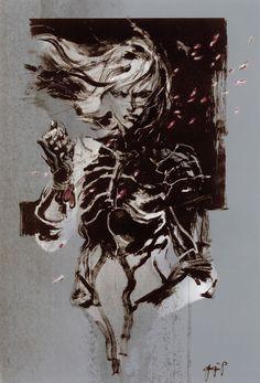 Raiden Illustration