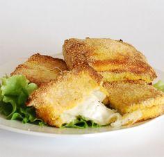 mozzarella in carrozza al forno: