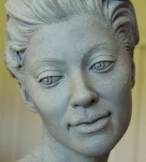 Image result for facial ceramic sculpture