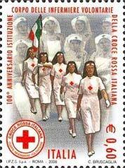 Francobollo infermiere volontarie