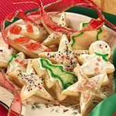 Ultimate Sugar Cookies - like the Lofthouse cookies. Very Yummy!  #4thofjulydesserts #4thofjulyideas