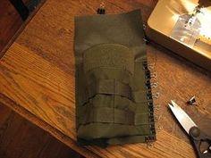How to Sew Cordura Nylon and Webbing thumbnail, AKA MOLLE.