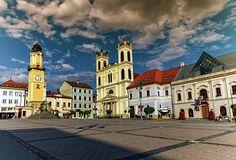 Banska Bystrica's Main Square, Slovakia by Elenarts - Elena Duvernay photo Photography Website, Nature Photography, Famous Places, Photos Du, Travel Photos, Fine Art America, Maine, Wildlife, Framed Prints
