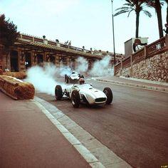 Michel May - Scuderia Colonia - Lotus Mk18 - Monaco GP 1961 (Monte Carlo)