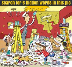 This is a 6 hidden words puzzle game that is suitable for both Adults and Young kids. Find the hidden words in this picture and comment your answers Credit: DM for credit Hidden Words In Pictures, Hidden Picture Puzzles, Word Pictures, Highlights Hidden Pictures, English Activities, Language Activities, Picture Comprehension, Longest Word, Six Words