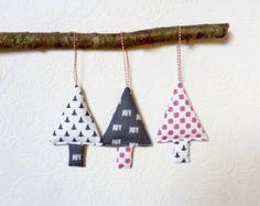 Stelle di ornamenti di Natale tessuto stella di Rethreading