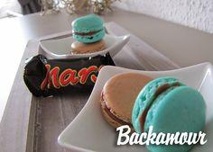 Backamour - die süße Seite: Schoko-Macarons mit Mars Ganache