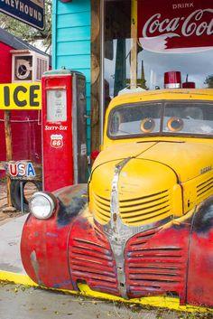 Seligman, Arizona Aurait inspiré le film CARS