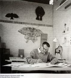 AN EAMES ANTHOLOGY, the first collection of writings by Charles and Ray Eames.  You can buy your copy now in The Eames Shop   http://shop.eamesoffice.com/an-eames-anthology.html