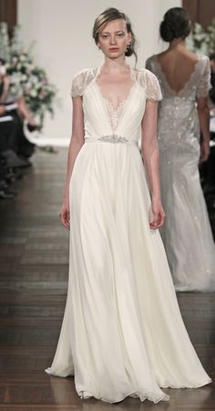 #JennyPackham - Dentelle- soft, flowing, and lace sleeves- romantic (and comfortable!)