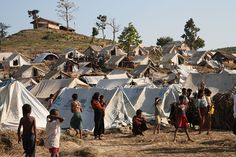 Taung Paw Camp in Rakhine State, Burma. From The Rohingya Issue In Myanmar