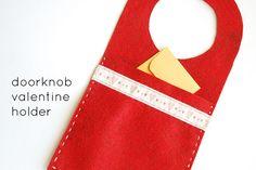 doorknob hanger by wildolive, via Flickr