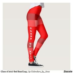 Class of 2017 Red Band Leggings by Janz
