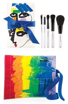 M·A·C 'Illustrated - All Over' Brush Kit by Julie Verhoeven (Nordstrom Exclusive) available at #Nordstrom