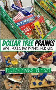 Dollar Tree April Fools Pranks - Prank - Prank meme - - 13 Clean Dollar Tree April Fools Pranks Easy April Fools Days Prank for Kids from the Dollar Store. The post Dollar Tree April Fools Pranks appeared first on Gag Dad.