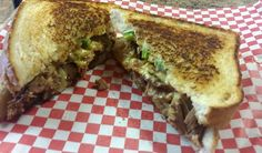 Our special last week, the brisket melt.