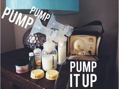 Breast pump essentials #video #breastpump #medela #nipplecream #motherlove #chapstick